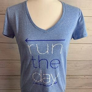 Under Armour Heat Gear Women's Medium Run The Day